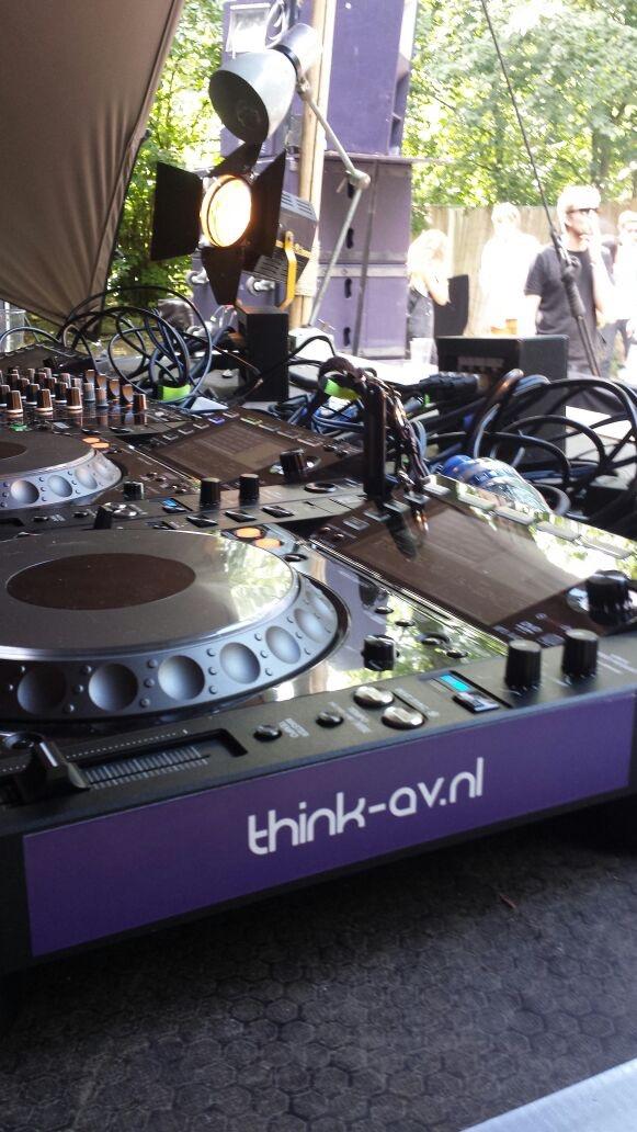 Dekmantel 2015 DJ Gear