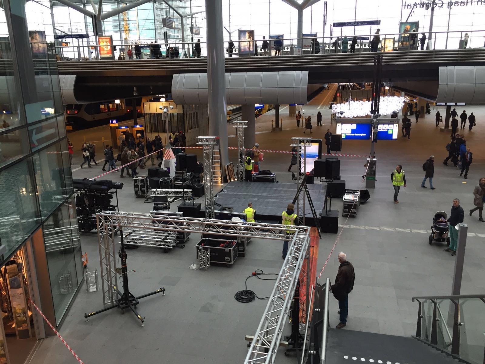 Den Haag Centraal opening