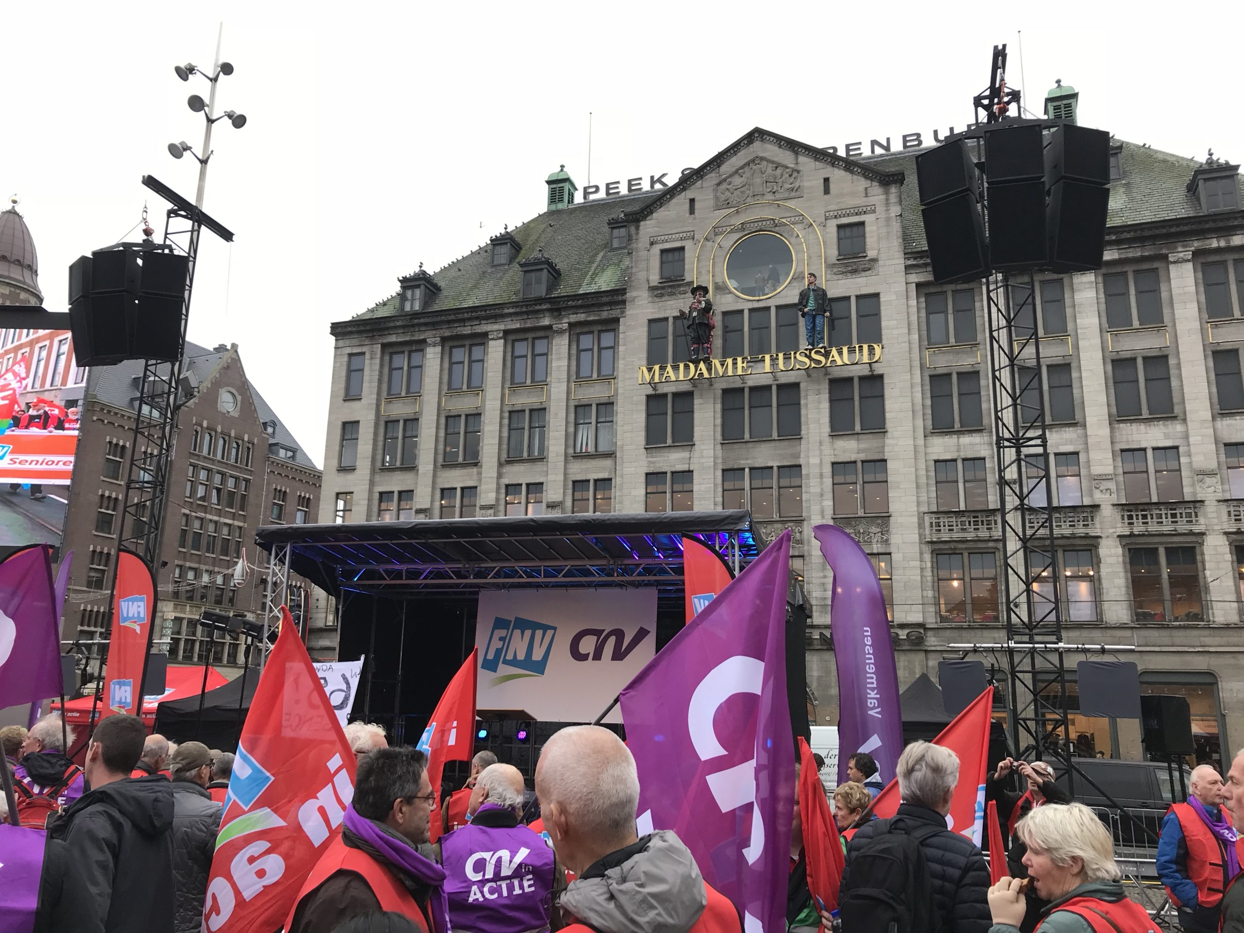 FNV Demonstratie Dam