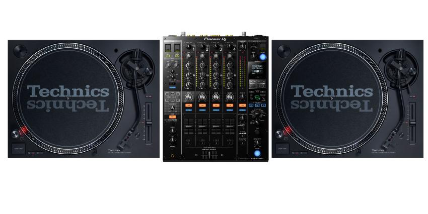 Technics SL1210mk2 & Pioneer DJM900NXS2