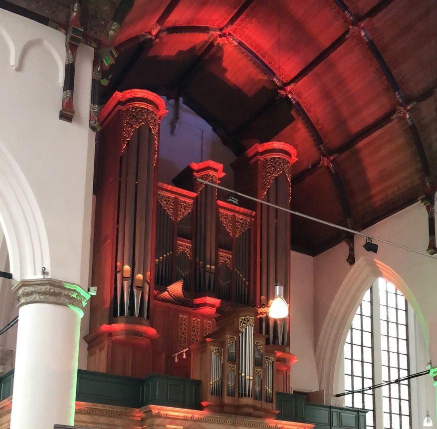 Uitlichten Grote Kerk binnen