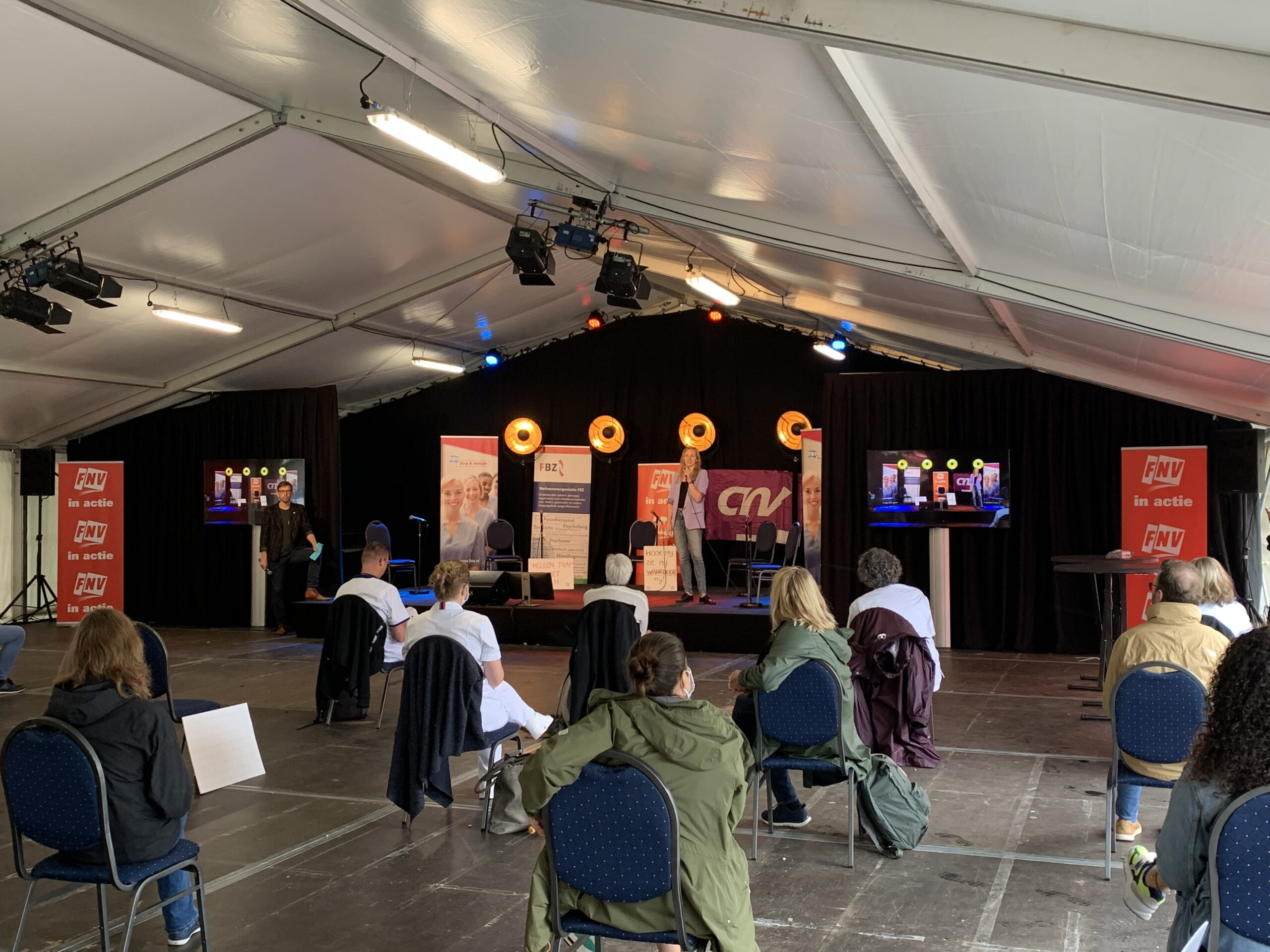 FNV demonstratie Zorg 2020