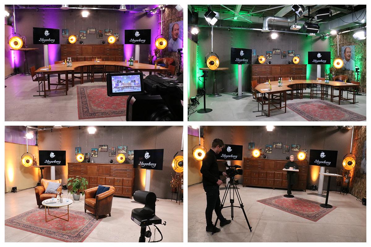 Livestream studio Bleyenberg